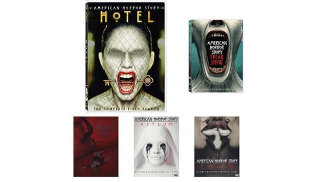 Cofanetto American Horror Story Stagioni 01-05