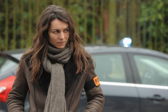 Sandra Winckler, protagonista di Les Temoins, in un'immagine dal set