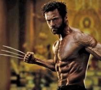 Hugh Jackman nel film Wolverine