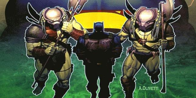 Immagine di Batman e Predator