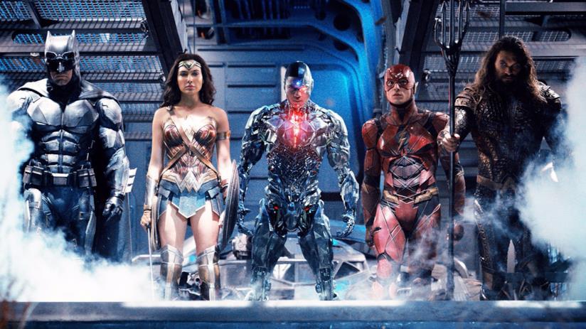 Justice League promo art