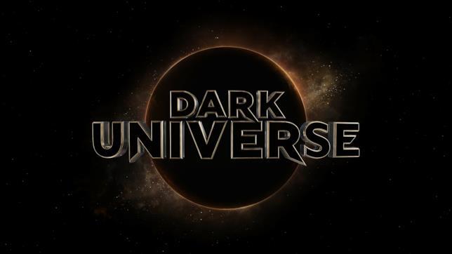 Il nuovo logo di Dark Universe realizzato da Weta Digital