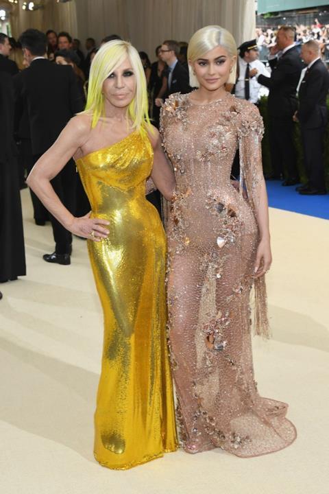 Donatella Versace e Kylie Jenner insieme al MET Gala 2017