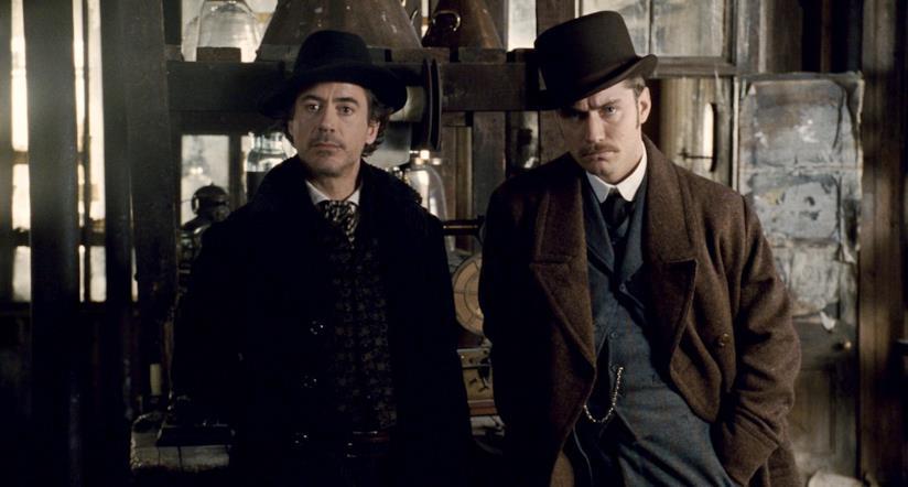 Una scena di Sherlock Holmes