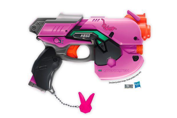 La Nerf Gun di D.Va , eroina di Overwatch