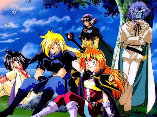 Slayers cast