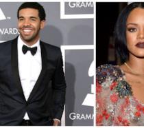 Primo piano di Drake e Rihanna