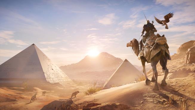 Immagine promozionale di Assassin's Creed Origins