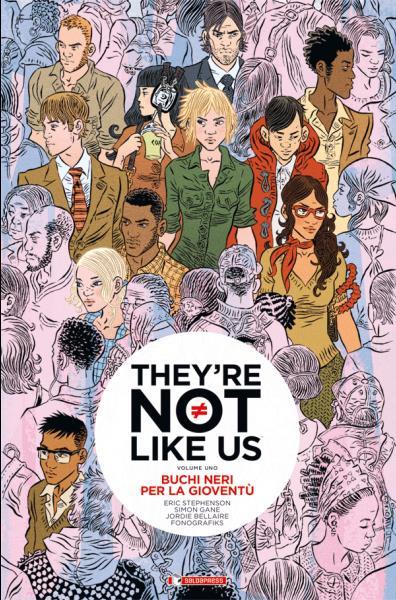 Buchi Neri per la Gioventù: la copertina di saldaPress
