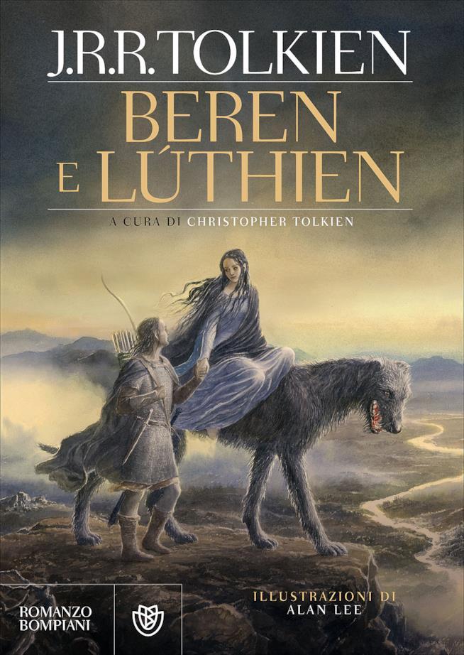 La copertina del nuovo romanzo di Tolkien