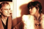 Marlon Brando e Maria Schneider in una scena di Ultimo tango  a Parigi