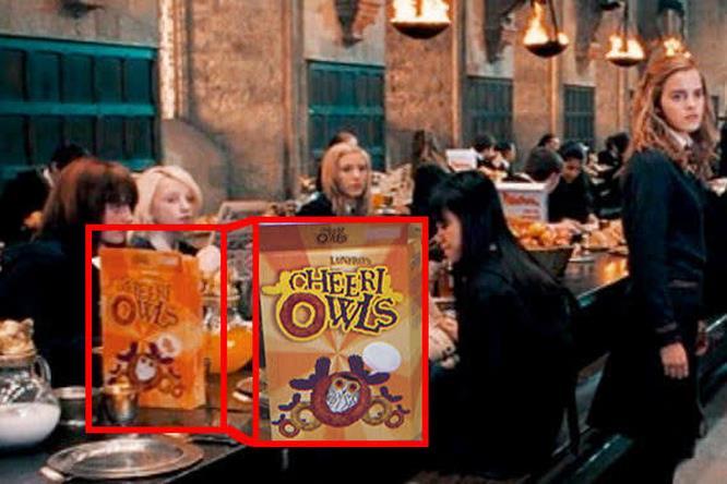 Curiosità su una scena di Harry Potter