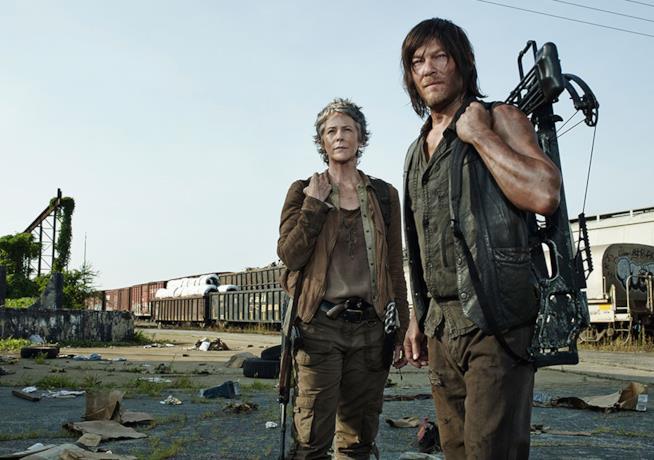 TWD: Daryl e Carol