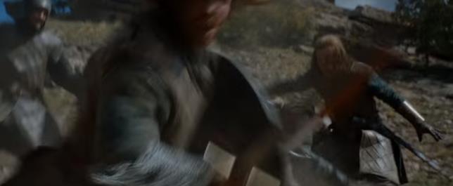 Scena di guerra in Game of Thrones Stagione 6