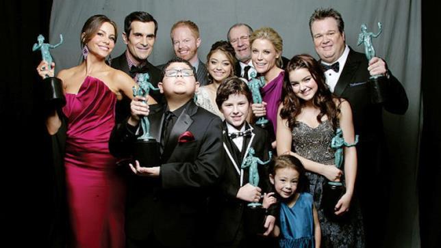 Gli attori della pluripremiata Modern Family