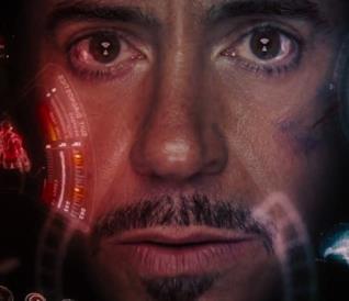 L'interno del casco di Iron Man nei film