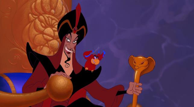 Jafar in una scena di Alladin