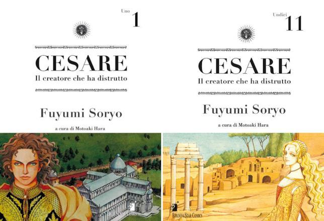 L'edizione italiana di Cesare: volumetti 1 e 11