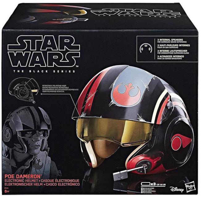 Scatole del casco di Poe Dameron