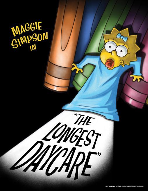 Maggie Simpson è protagonista di The Longest Daycare, un corto di 4 minuti