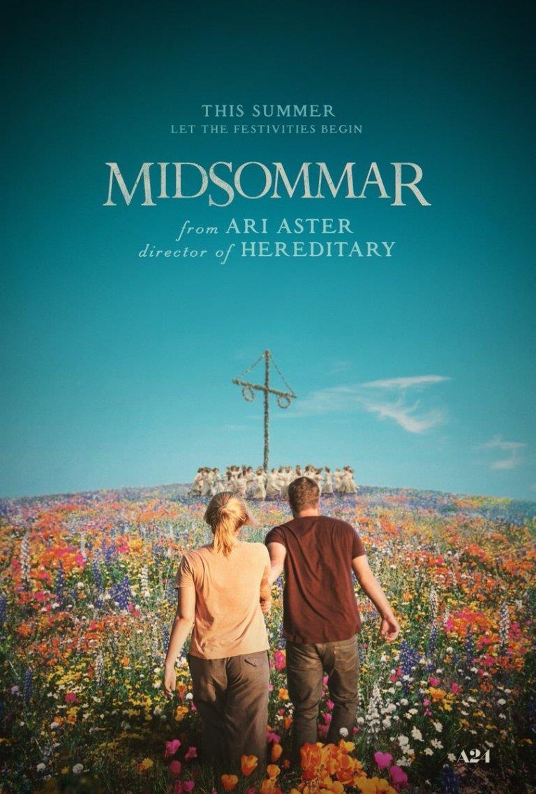 Il poster ufficiale del film horror Midsommar