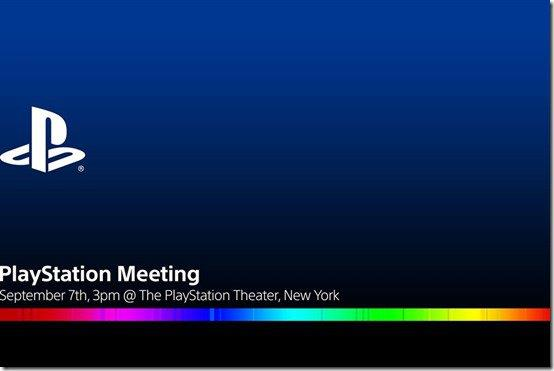 Invito di Sony al PlayStation Meeting di Settembre 2016