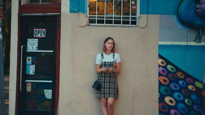 Lady Bird, una scena del film