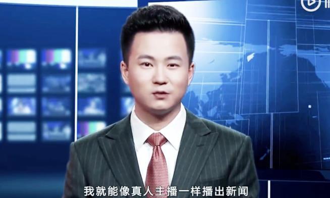 Dalla Cina arrivano i primi due giornalisti virtuali!