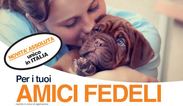 """La locandina dell'iniziativa """"Amici Fedeli"""" lanciata da Banca di Piacenza"""