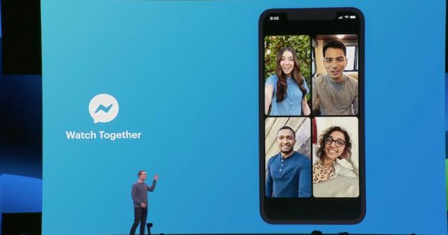 Zuckerberg presenta la funzione Watch Together in arrivo su Messenger