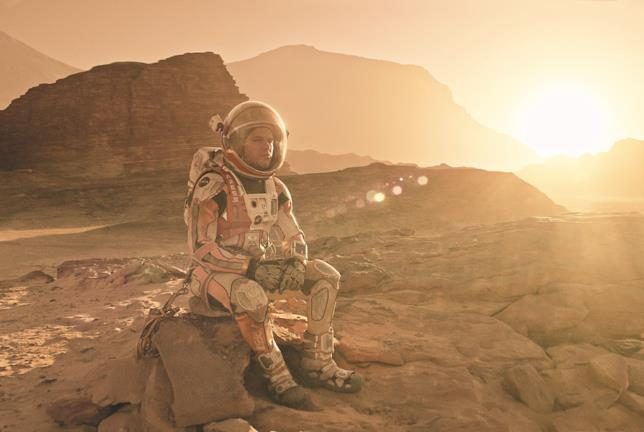 The Martian: Matt Damon è Mark Watney