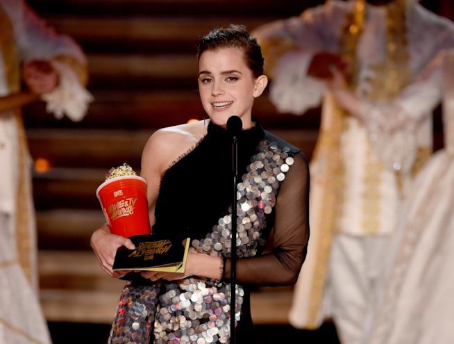 Emma Watson agli MTV Movie Awards 2017