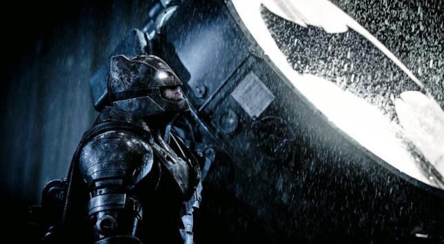 Ben Affleck veste i panni di Batman nel film Batman Vs Superman