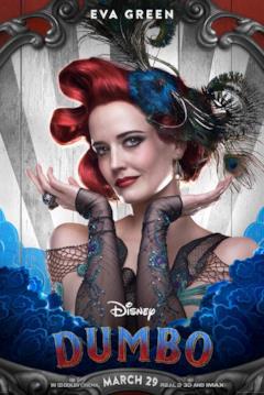 Eva Green è Colette Marchant nel character poster dal film di Dumbo (2019)