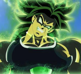 Dragon Ball Super Broly trasformato