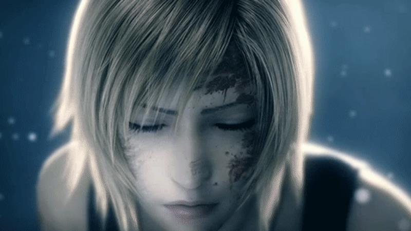 Una GIF di Aya Brea, protagonista della serie Parasite Eve