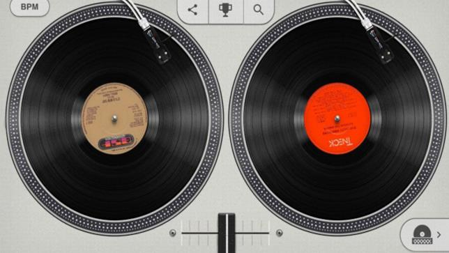 Google Doodle 44esimo Anniversario Hip Hop