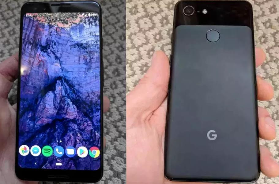 Un'immagine trapelata che ci mostra come sarà il prossimo Pixel 3.