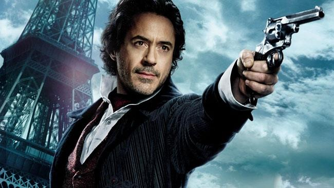 Robert Downey Jr. nel ruolo di Sherlock Holmes