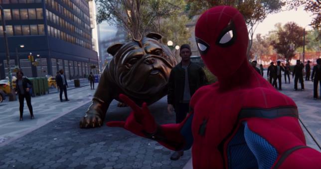 Lockjaw in Spider-Man