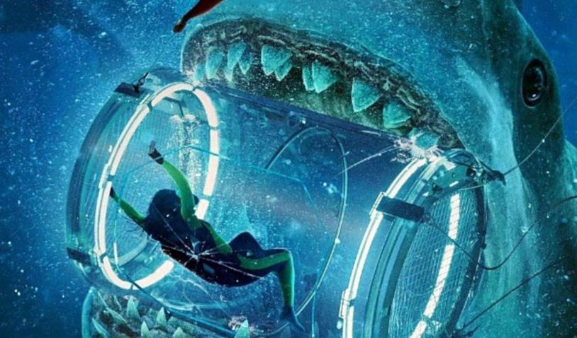 Il Megalodonte nel film Shark - Il Primo Squalo