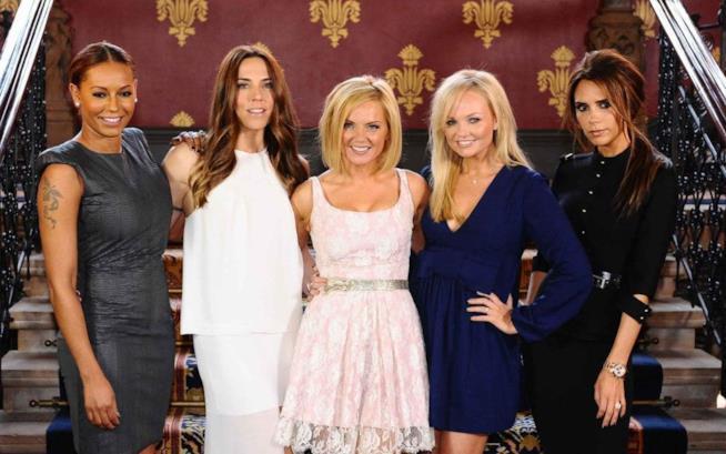 Primo piano delle Spice Girls