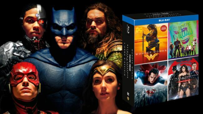 il DC 4 Movies Boxset targato WB