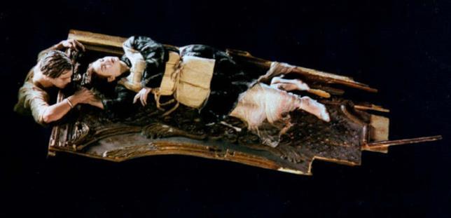 Scena del film Titanic