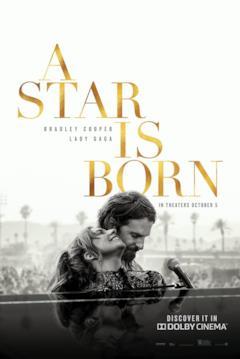 Jack e Ally insieme nel poster di A Star is Born