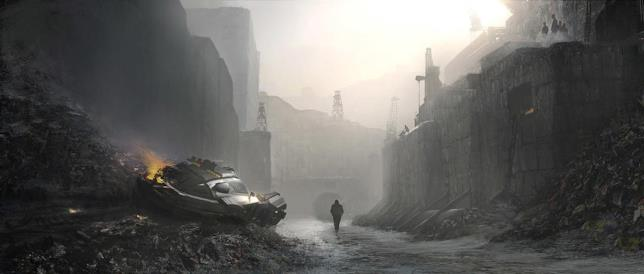La concept art di Emmanuel Shiu per Blade Runner 2049