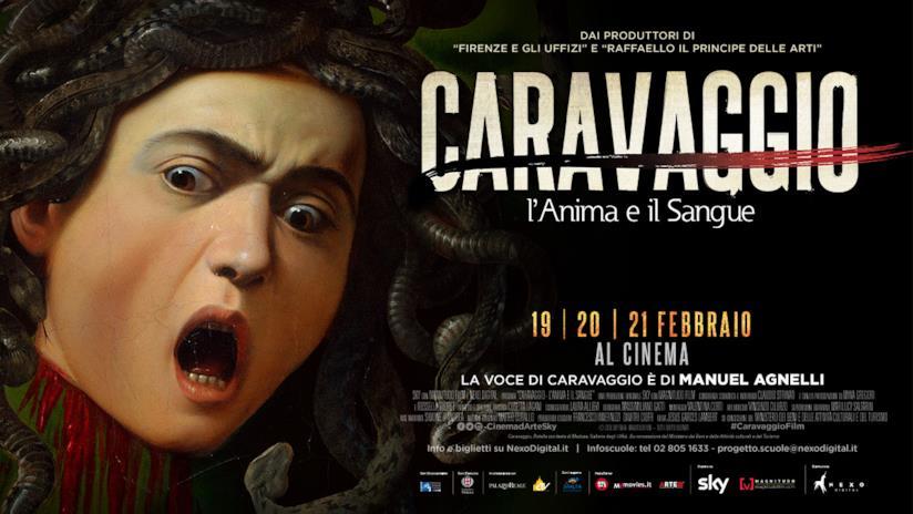 Il poster di Caravaggio: l'anima e il sangue