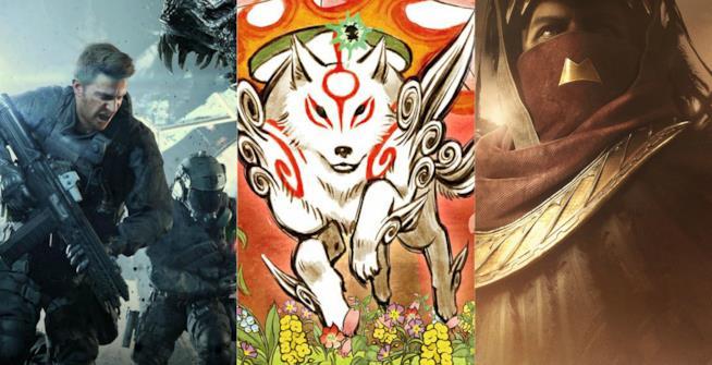 I protagonisti di Not A Hero, Okami HD e La Maledizione di Osiride