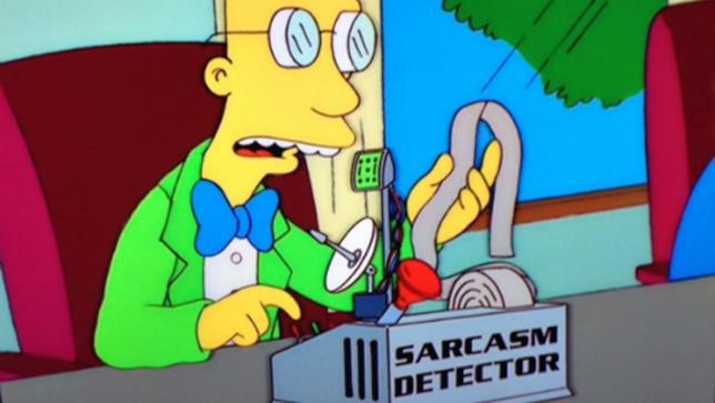 Rilevatore sarcasmo del dottor Frink, I Simpson
