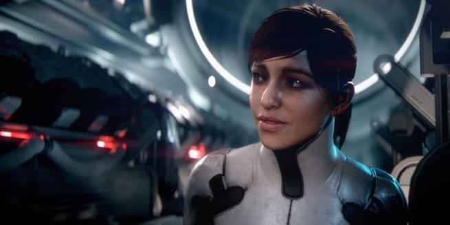 Primo piano per Sarah Ryder, protagonista femminile di Mass Effect: Andromeda
